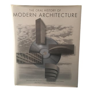 """Oral History of Modern Architecture"" Book"