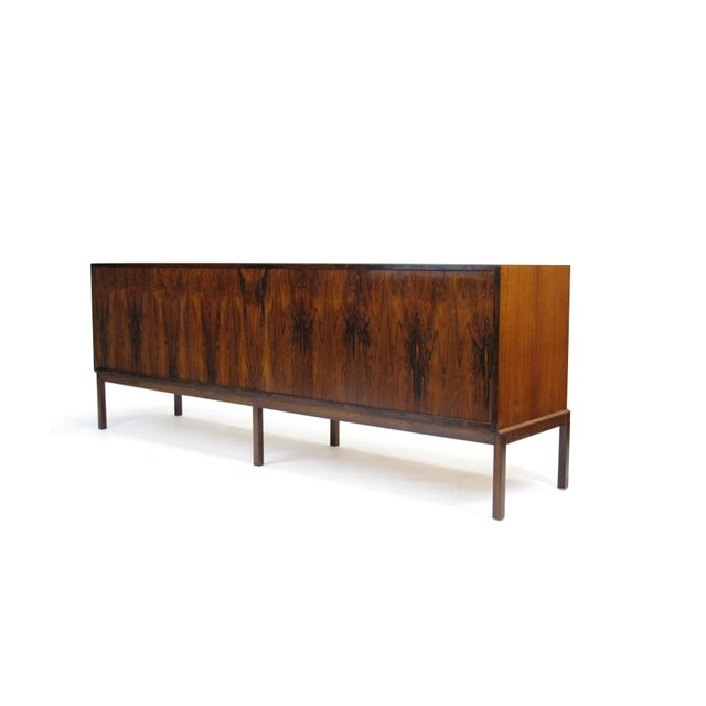 Mid-Century Modern Mid-Century Johannes Andersen Rosewood Credenza For Sale - Image 3 of 7