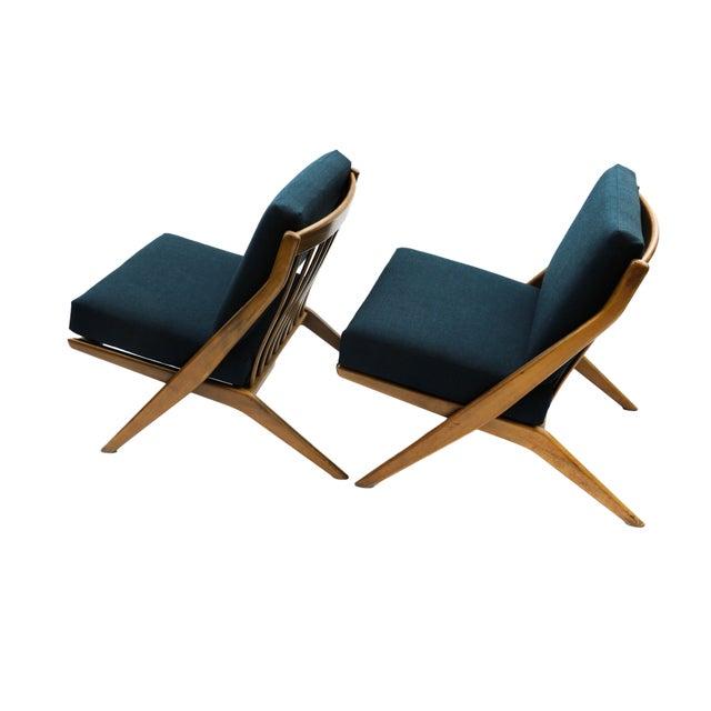 Pair Folke Ohlsson Dux Scissor Lounge Chair - Image 1 of 10