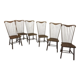 Pottery Barn Windsor Dining Chairs - Set of 6