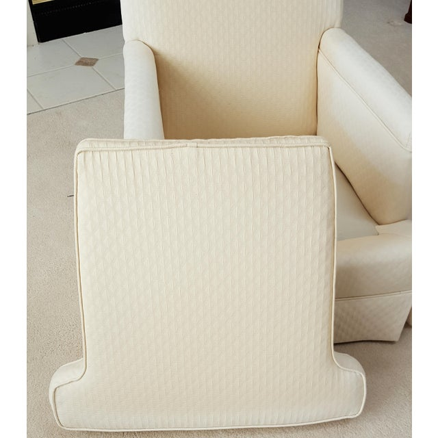 Mid-Century Modern Tailored Cushion Arm Chair - Image 7 of 9