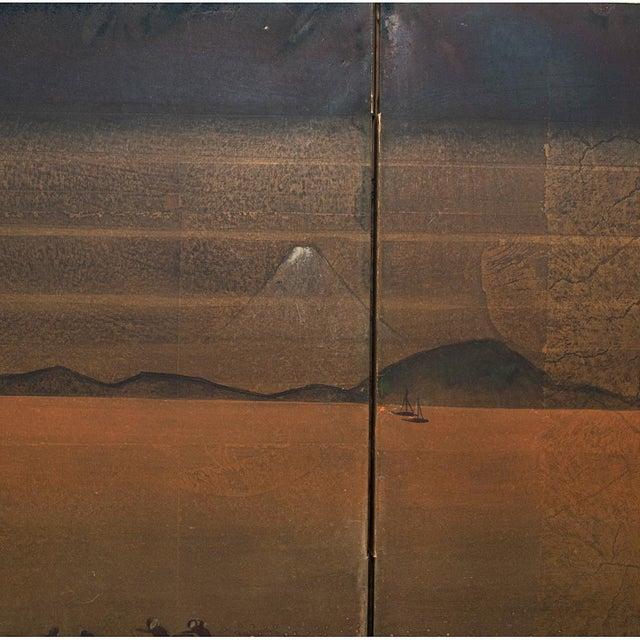 1880 Japanese Byobu Screen For Sale - Image 10 of 12