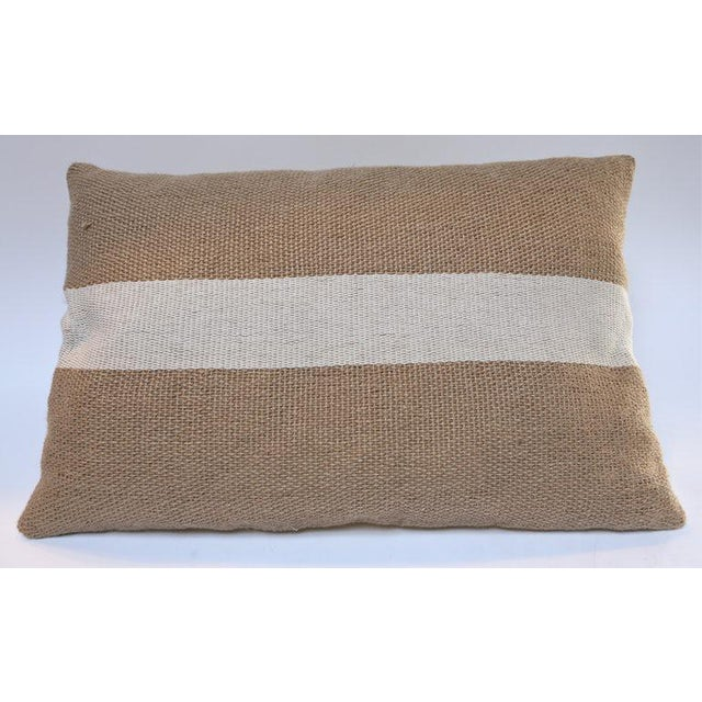 Contemporary Jute Pillows For Sale - Image 3 of 5