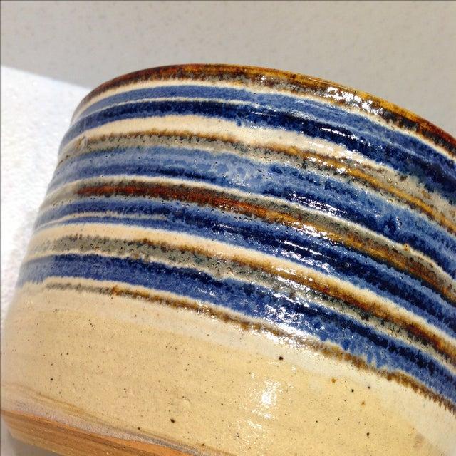 Vintage Handmade Pottery Bowl - Image 10 of 10