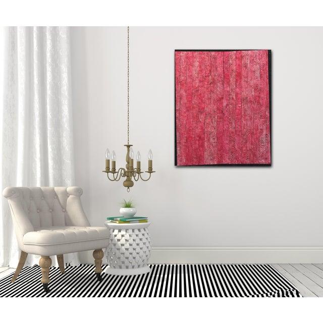 "Red ""Coercive"" Original Artwork by David Jang For Sale - Image 8 of 10"