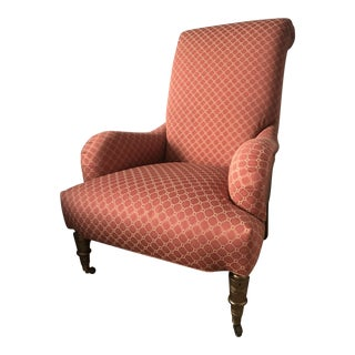 English Roll Arm Empire Chair