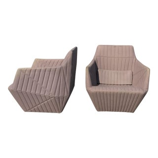 Modern Ronan Bouroullec for Ligne Roset Facett Chairs- A Pair For Sale