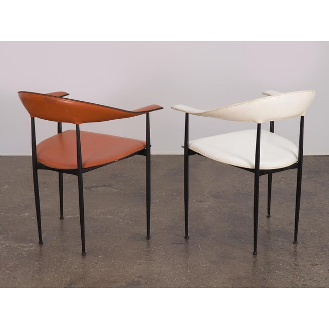Black P40 Armchairs by Giancarlo Vegni and Gianfranco Gualtierotti - a Pair For Sale - Image 8 of 12