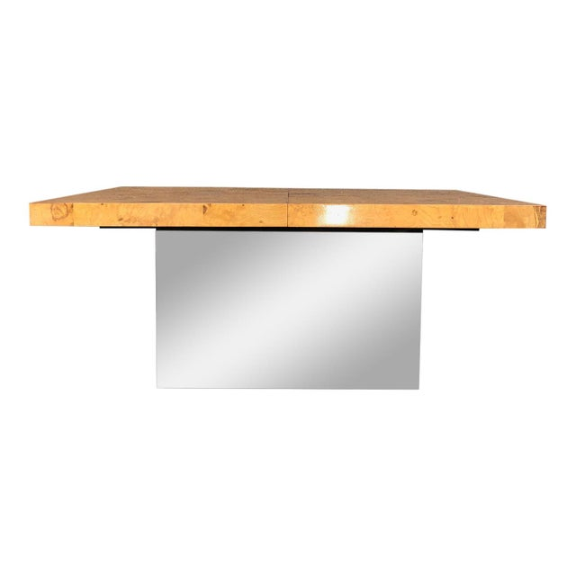 1970s Mid-Century Modern Milo Baughman for Thayer Coggin Dining Table For Sale - Image 9 of 10