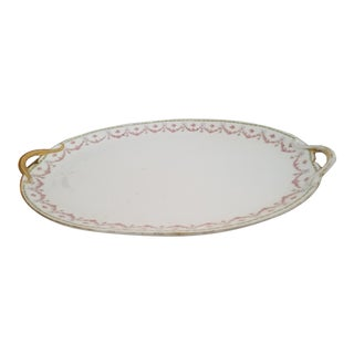 Late 19th Century Antique Huge French Limoge Roast Platter For Sale