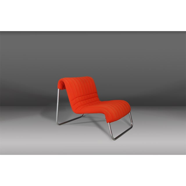 1970s Chairs Lounge Italian Midcentury by De Pas and Lomazzi for Driade, 1970s For Sale - Image 5 of 5