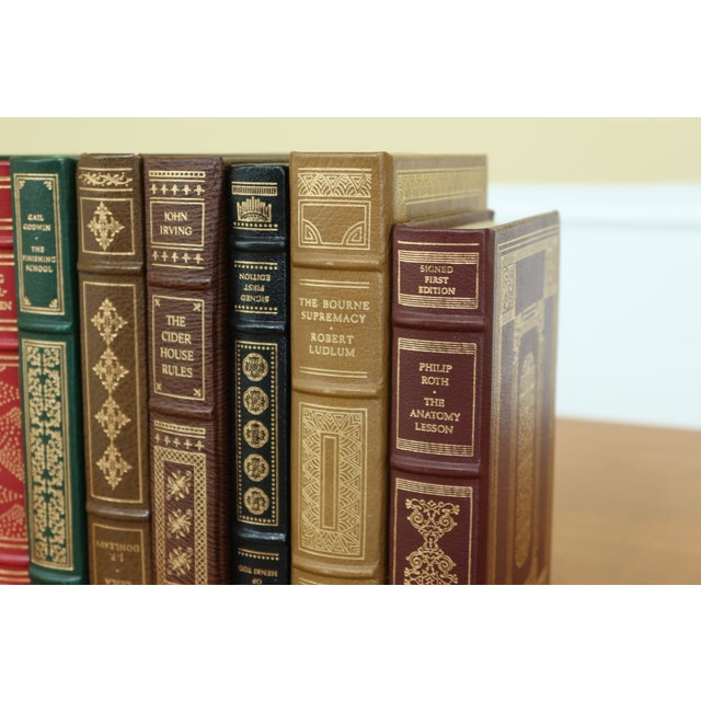 Set of 12 Franklin Mint 1st Edition Signed Leather Books For Sale - Image 4 of 10