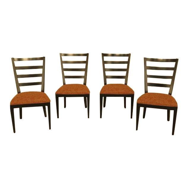 Strange Ethan Allen Townhouse Ladderback Dining Chairs Set Of 4 Beutiful Home Inspiration Cosmmahrainfo