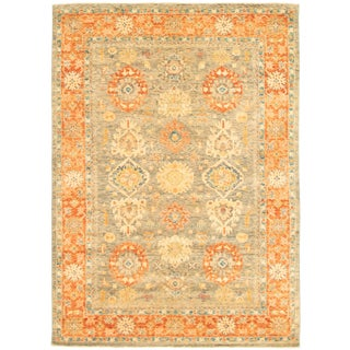 "Pakistani Hand-Knotted Rug-6'0"" X 8'5"" For Sale"