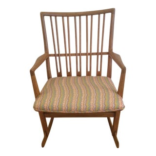 Hans Wegner ML 33 Rocking Chair For Sale