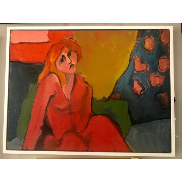Late 20th Century Fay Singer Original Oil Painting For Sale - Image 4 of 4