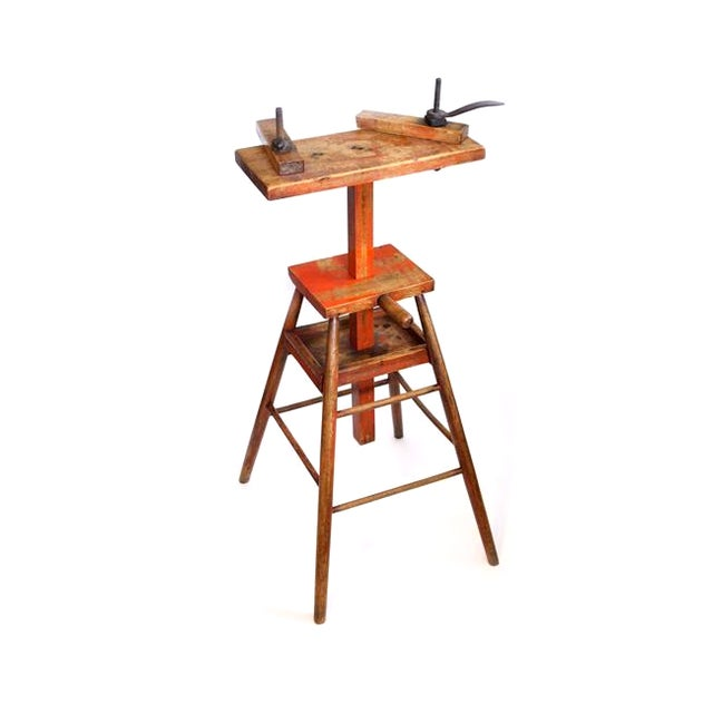 Woodworking Chairmaker's Stand For Sale