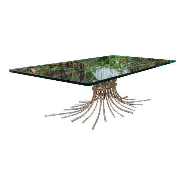 "Vintage Metal ""Tree"" Roots Coffee Table - Image 1 of 11"