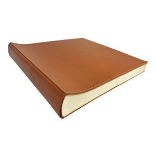 Arte & Cuoio Stitched Leather Photo Album For Sale