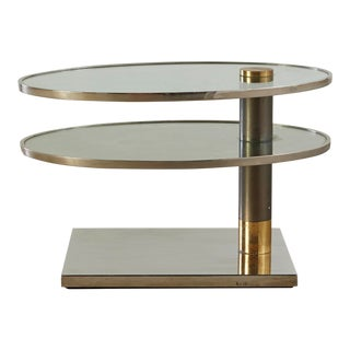 Pace 2 Tier Swivel Table For Sale