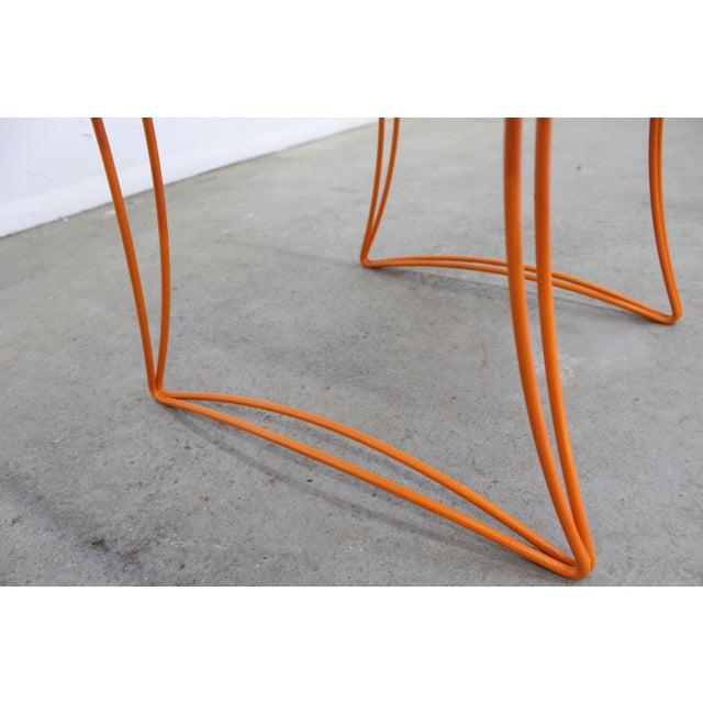 1960s Mid-Century Modern Homecrest Bottemiller Metal End Table 1521 For Sale - Image 5 of 8