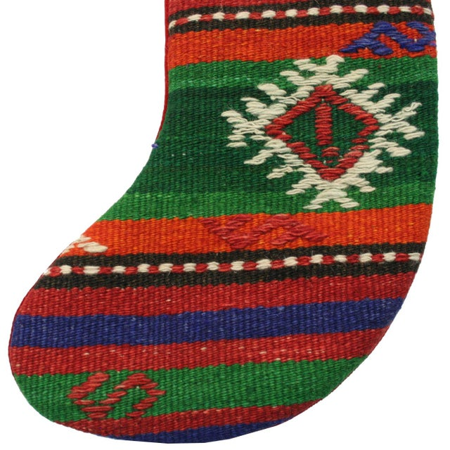 Vintage Kilim Christmas Stocking - Image 2 of 3