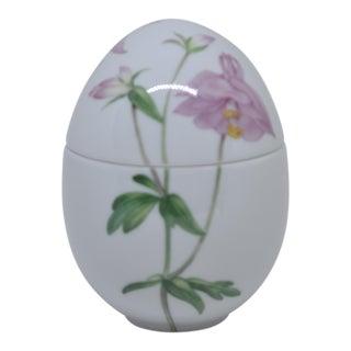 Royal Copenhagen Porcelain Egg Box For Sale