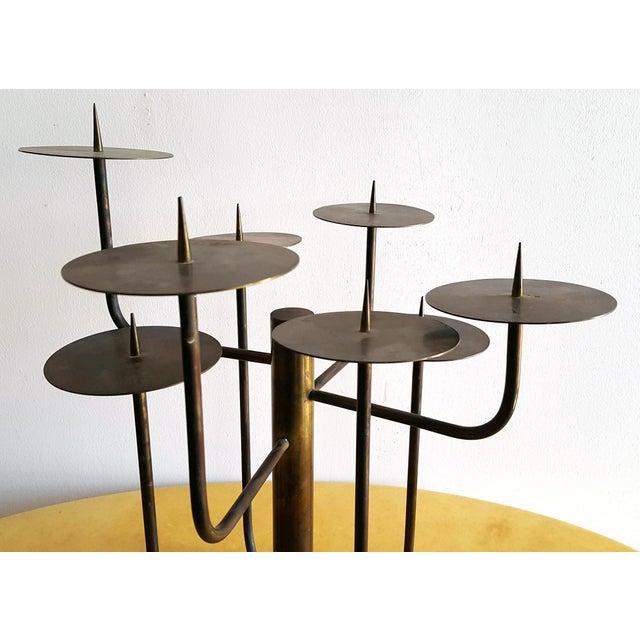 Mid-Century Modern 1950s Organic Modernist Studio Candelabra For Sale - Image 3 of 6