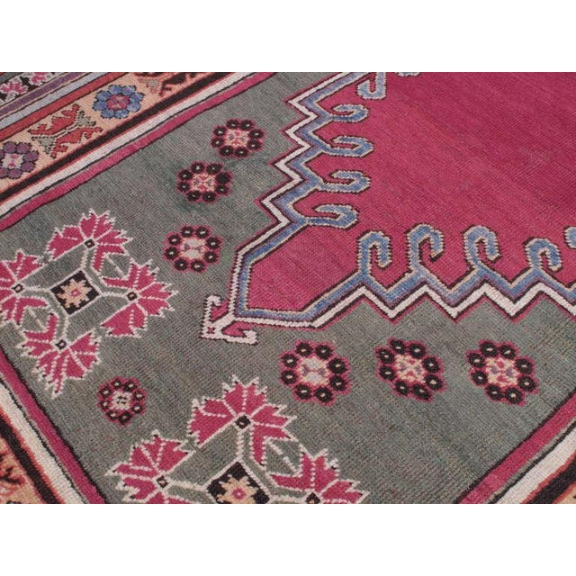 Antique Kirsehir Rug For Sale - Image 4 of 8