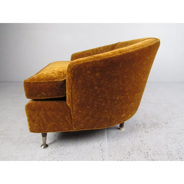 Mid-Century Modern Adrian Pearsall Lounge Chair for Craft Associates For Sale - Image 3 of 11