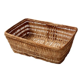 Vintage French Country Woven Basket