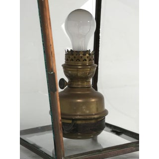 Antique French Hanging Copper Lantern Preview