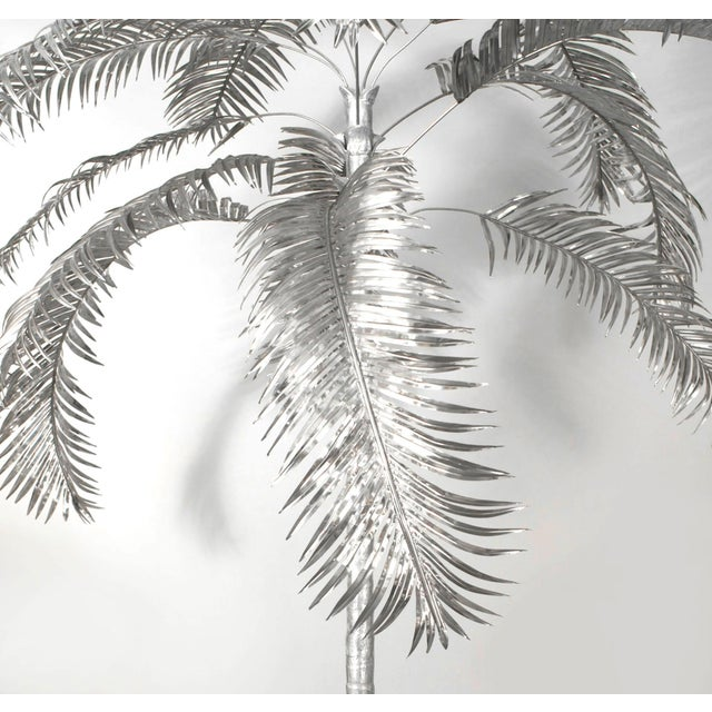 Contemporary Aluminum Palm Trees by Arthur Court - a Pair For Sale - Image 3 of 8