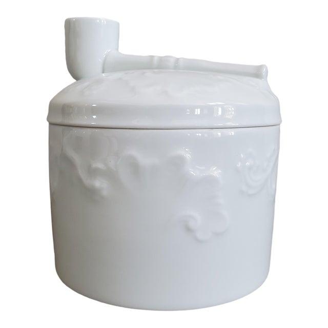 Limoges French Porcelain Tobacco Jar For Sale