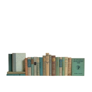 Pistachio Cream Classics : Set of Twenty Decorative Books