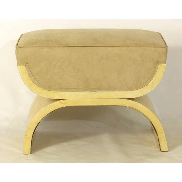 Art Deco Art Deco Goatskin Stool For Sale - Image 3 of 7