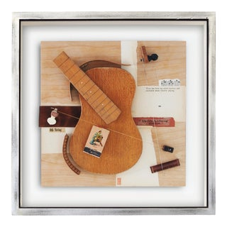 """""""Destiny"""" Contemporary Mixed-Media Still Life Assemblage by Poul Lange, Framed For Sale"""