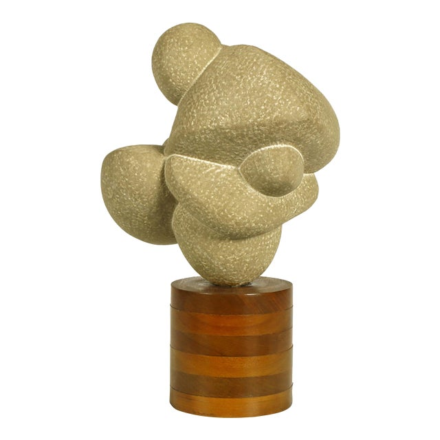 "1960s Robert Lockhart Stone Sculpture Titled ""Dancers"" For Sale"