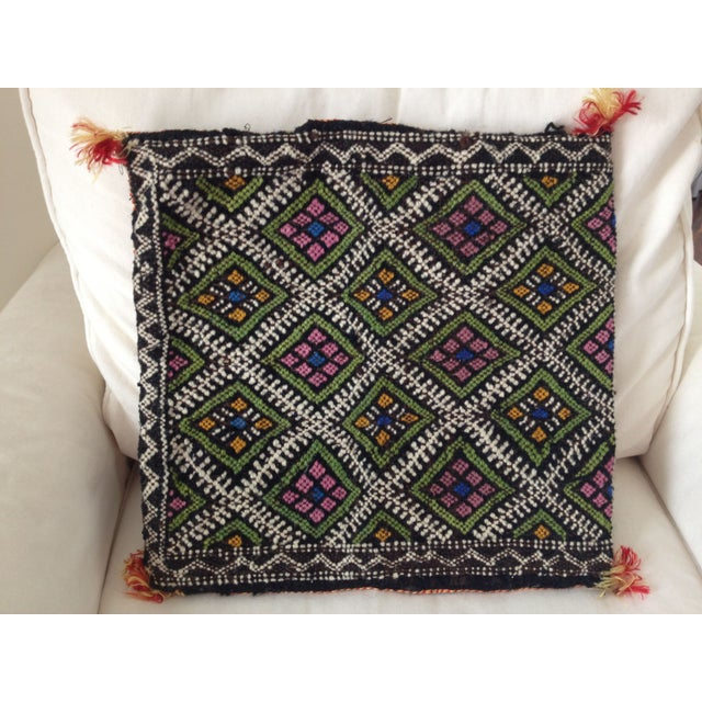 Vintage Moroccan Berber Pillow Case - Image 2 of 2