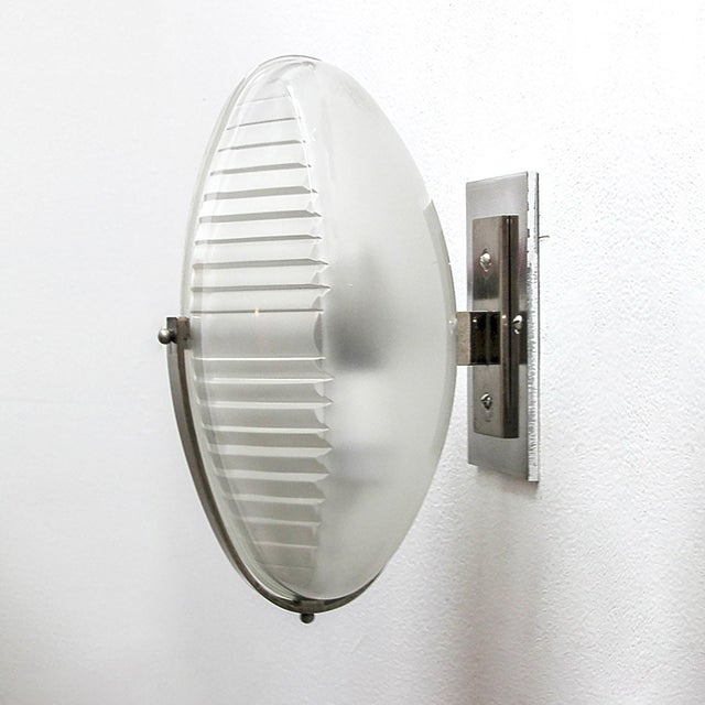 1960s Pair of Vico Magistretti Wall Lights For Sale - Image 5 of 11