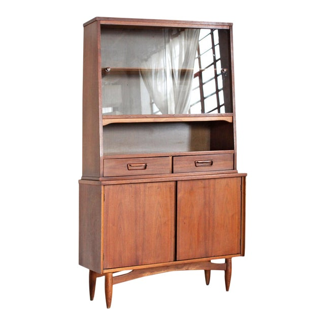 mid century of architectural modern hutch by cabinet china