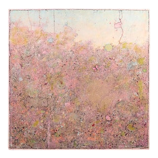Elwood Howell, Pink Butterfly Painting, 2018 For Sale