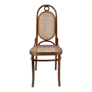 1940's Bentwood and Cane Thonet-Style Chair For Sale