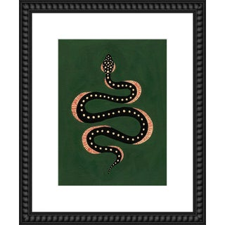 """Medium """"Apple the Snake"""" Print by Willa Heart, 18"""" X 22"""" For Sale"""