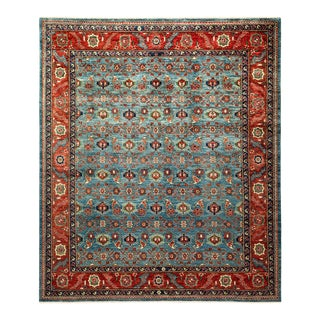One-Of-A-Kind Oriental Serapi Hand-Knotted Area Rug, Ceruelan, 8' 3 X 9' 6 For Sale