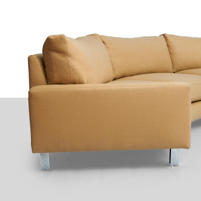 Mid-Century Modern Milo Baughman Sectional Sofa For Sale - Image 3 of 7