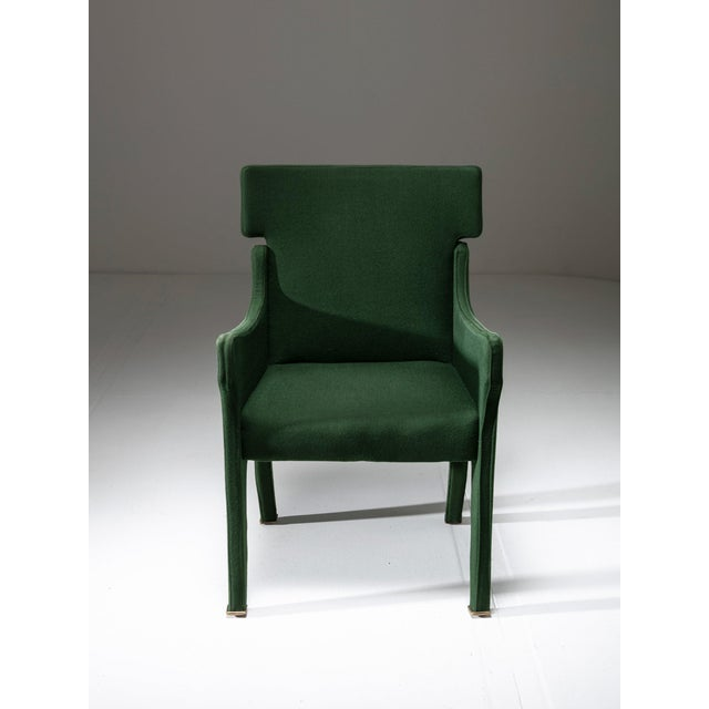 "Mid-Century Modern Armchair Model ""R63"" by Ignazio Gardella for Azucena For Sale - Image 3 of 8"