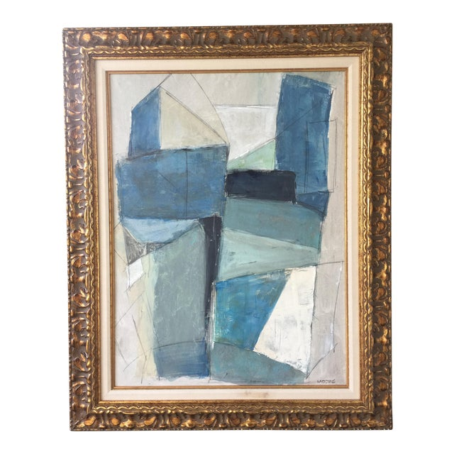 Large Geometric Abstract by Kimberly Moore - Image 1 of 5