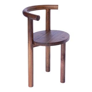 Modern Walnut Macaroni Chair For Sale