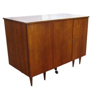 Vintage Midcentury Folding Desk For Sale